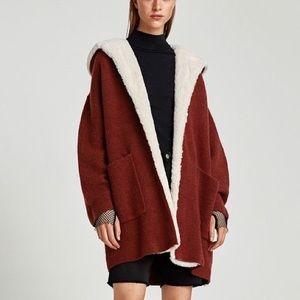 Zara Long Knit Sweater Cardigan